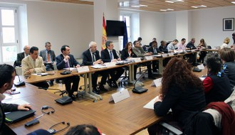 El Ministeri i la CHE lloen davant els eurodiputats un pla de l'Ebre que «millora la protecció del delta»