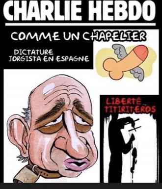 Vés a: La portada de «Charlie Hebdo» sobre Jorge Fernández Díaz  és un «fake»