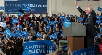 Vés a: Sanders arrasa Clinton i Trump guanya clarament a New Hampshire