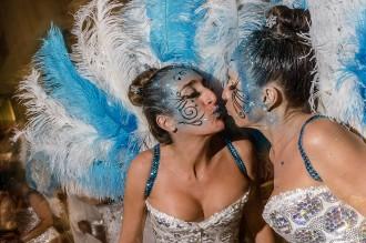 Vés a: FOTOS La Rua de l'Extermini, punt culminant del Carnaval de Sitges