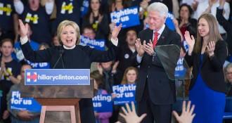 Sanders arrasa Clinton i Trump guanya clarament a New Hampshire