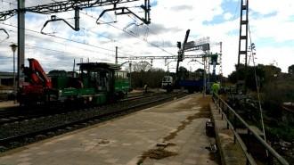 Restablerta la circulació de trens a Valls després de l'incendi a l'estació