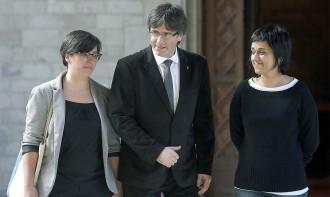 Vés a: Anna Gabriel: «No ens tremolaran les cames a l'hora de fer valer l'estabilitat parlamentària»