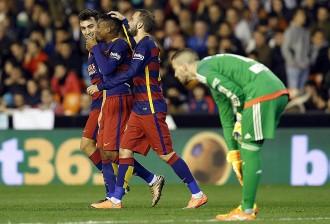 Vés a: El Barça passa a la final de Copa i segella un nou rècord  (1-1)