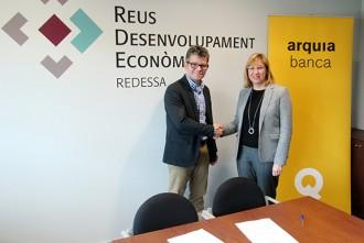 Redessa i la cooperativa Arquia Banca signen un conveni de col·laboració