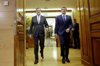 Vés a: Rivera exigeix «sentit d'estat» i el rebuig a un referèndum a PP i PSOE