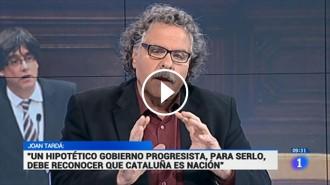 Vés a: VÍDEO Joan Tardà deixa en evidència els tertulians de TVE