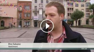 El polèmic gas del Carnaval de Torelló, al «Telenotícies» de TV3