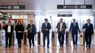El metro, per fi a l'aeroport