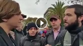VÍDEO Crispada conversa entre membres del CGT de TMB i Ada Colau per la vaga