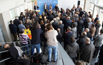 Vilagrà reivindica la regió central dels Bombers en la presa de possessió de la delegació del Govern