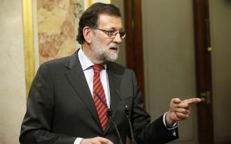 Rajoy titlla Puigdemont de «radical» pel discurs independentista als cònsols