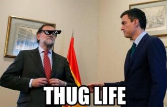 La «mala educació» de Rajoy convertida en «memes»