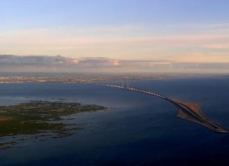 El pont més espectacular del món uneix Suècia i Dinamarca
