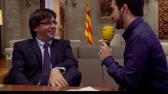 Vés a: Carles Puigdemont: «Aviat sentirem la proclamació de la independència»