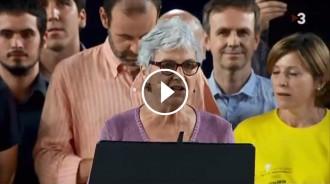 Vés a: VÍDEO El discurs de Muriel Casals al Concert per la Llibertat