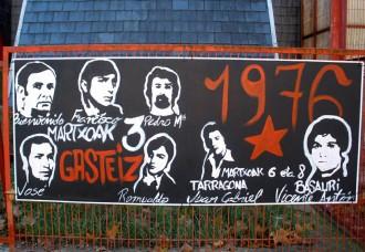 Quaranta anys de la massacre de treballadors de Vitòria