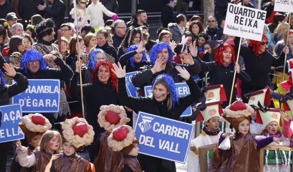 La comparsa de l'escola Santa Teresa guanya el 39è Carnestoltes infantil