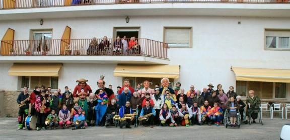 El Carnaval visita la residència
