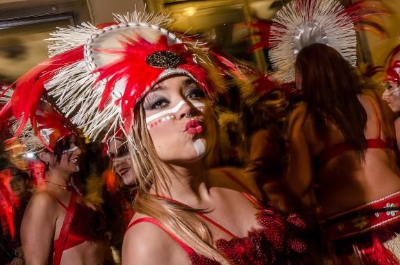 Rua de l'Extermini del Carnaval de Sitges
