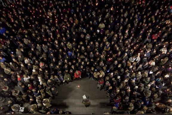 Homenatge a Muriel Casals a Sabadell