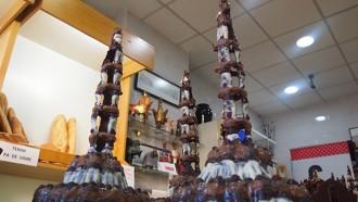 Presenten la figura de xocolata del 3de9f dels Xiquets de Reus