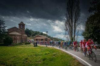 La Volta Ciclista a Catalunya arrenca a Calella amb un cartell de luxe