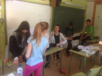 Alumnes del SI Sant Llorenç de Morunys es preparen per ser dinamitzadors esportius