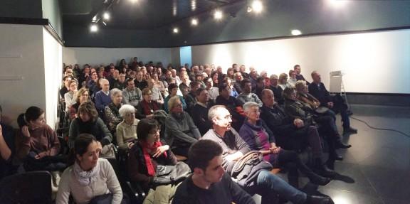 Més d'un centenar d'assistents a la conferència d'Eudald Carbonell