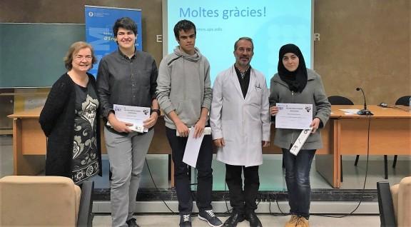 Dos estudiants de l'Institut Francesc Ribalta entre els millors de l'Olimpiada Química de la Catalunya Central