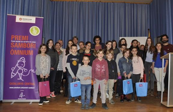 Els premis de narrativa escolar Sambori Òmnium guardonen 6 alumnes del Solsonès