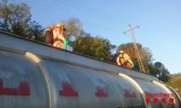 Xoc entre un camió de mercaderies perilloses i una furgoneta a l'AP-7