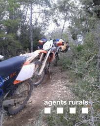Vés a: Denuncien 4 motociclistes per circular per corriols a la Noguera