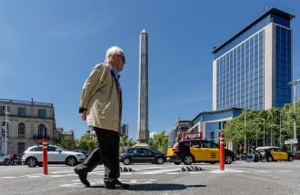 El ple de Gràcia aprova el canvi de nom de la plaça Joan Carles I per «Cinc d'Oros»