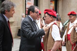 El conseller Jordi Jané destaca a Solsona l'elevat grau de seguretat de la comarca