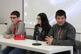Ferran Castells, Maria Solé, Jan Brotons i Júlia Sunyer guanyen el primer concurs de Booktrailers de Solsona