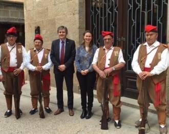 La Consellera d'Agricultura visita l'Ajuntament de Solsona
