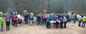130 participants a la 5a Caminada Popular de Pinell