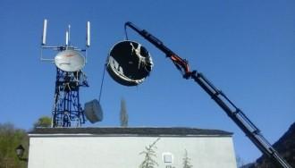 Telefónica retira les antenes en desús de Llavorsí