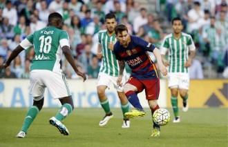 Vés a: El Barça, a dues victòries del títol de la Lliga (0-2)