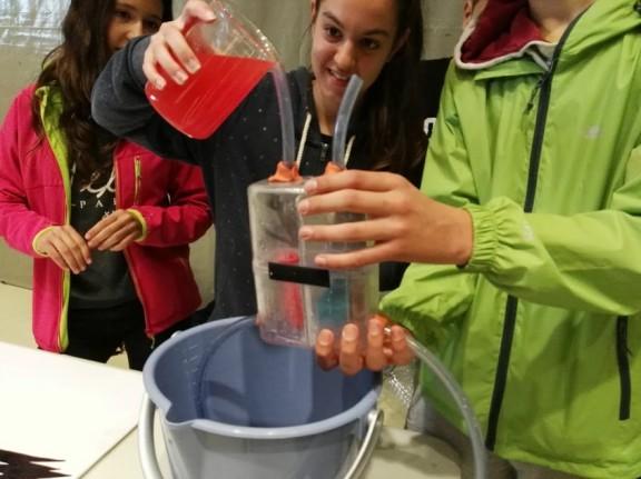 365 alumnes participen a la II Fira de la Ciència del Solsonès