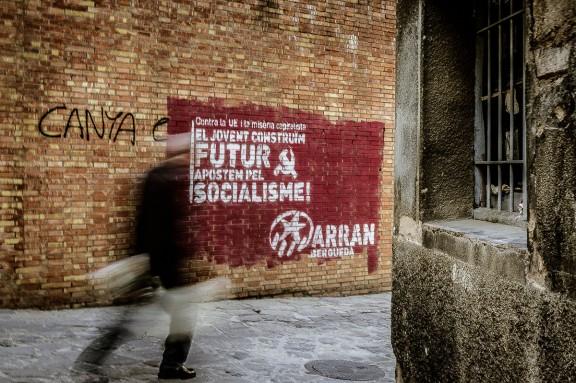 Grafitis; les parets de Berga es reivindiquen