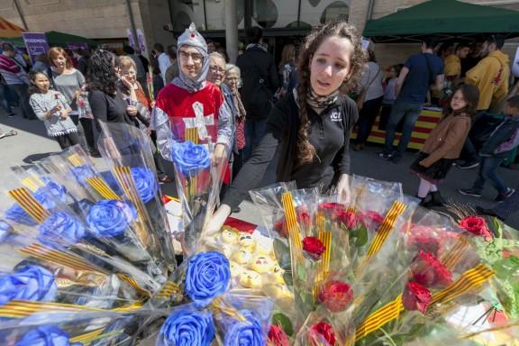 Sant Jordi a Sabadell