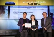Vés a: NacióDigital presenta l'evolució del sistema de visualització de dades finançat per Google