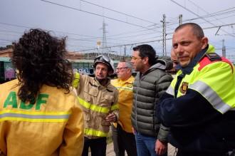 Vés a: Estabilitzat l'incendi de vegetació a Llançà, a l'Alt Empordà