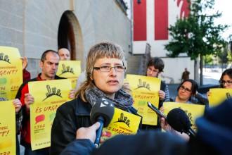 La CUP reclama a l'Ajuntament d'Olot que exigeixi als bancs la cessió de pisos buits