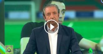 VÍDEO Pedrerol es mofa de Xavi Hernández