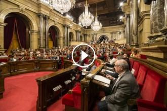 Vés a: VÍDEO La sessió de control al Govern i al president al Parlament, en directe