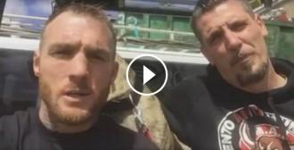 VÍDEO Boxejadors del «Club de la Lluita», disposats a impedir el Toro de la Vega