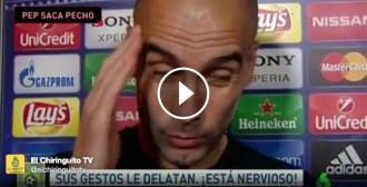 El «clatellot» de Guardiola a una periodista d'una cadena espanyola